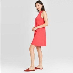 NWT A New Day Tank Dress Red